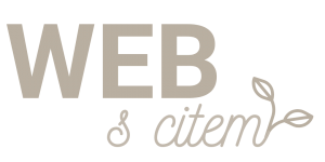 Web s citem Logo